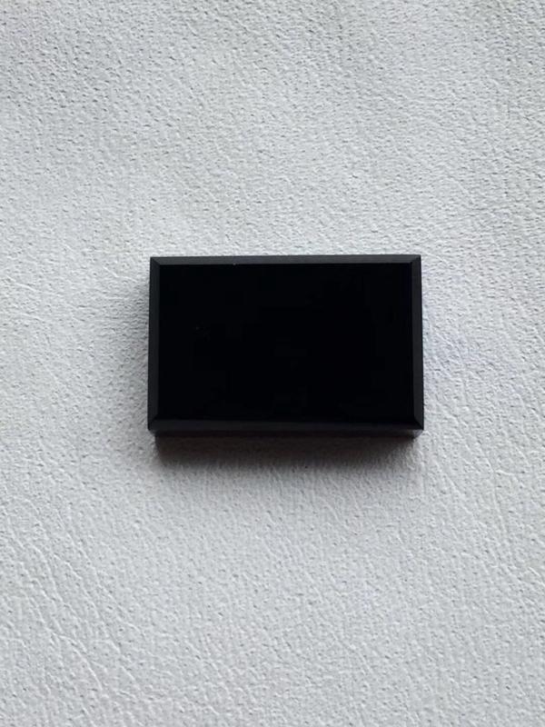 【墨翠【精品-戒面】完美无裂纹,细腻干净,黑度极黑,性价比高,雕工精湛,打灯透绿】图6