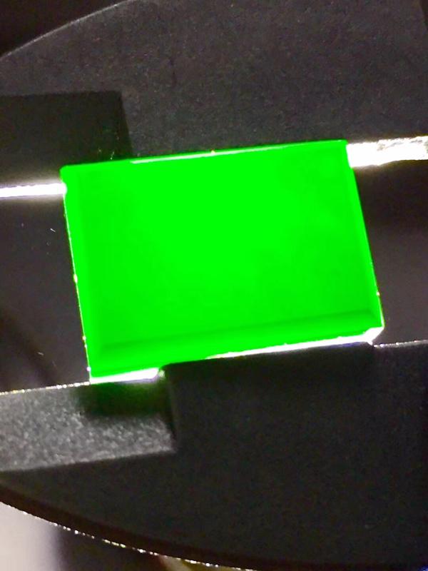 墨翠 【精品-戒面】完美无裂纹,细腻干净,黑度极黑,性价比高,雕工精湛,打灯透绿