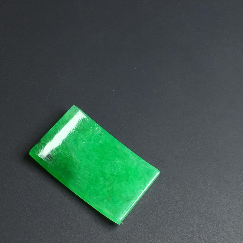 【【戒面】色泽艳丽  玉质细腻  款式精美。品相佳  裸石15-9-2毫米】图6