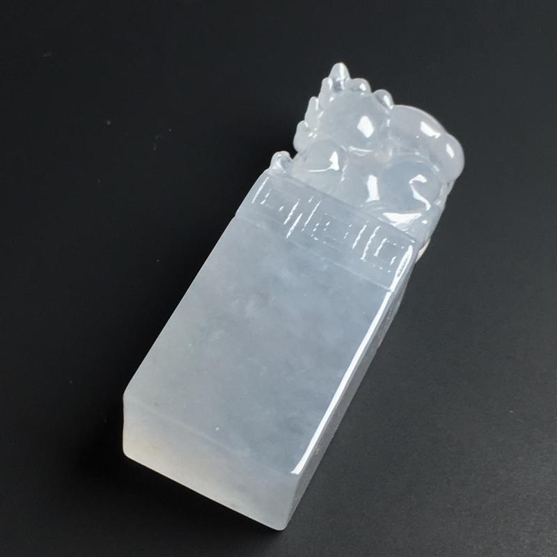 【【招财貔貅印章】冰透水润  雕工精湛  款式精美  尺寸39-15-11毫米】图6