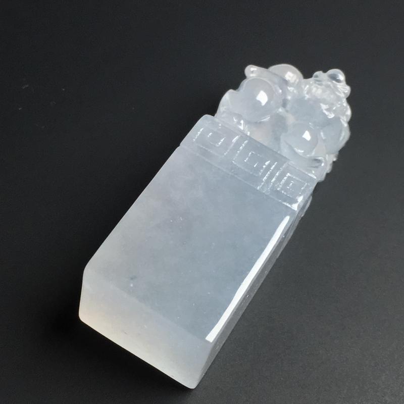 【【招财貔貅印章】冰透水润  雕工精湛  款式精美  尺寸39-15-11毫米】图4
