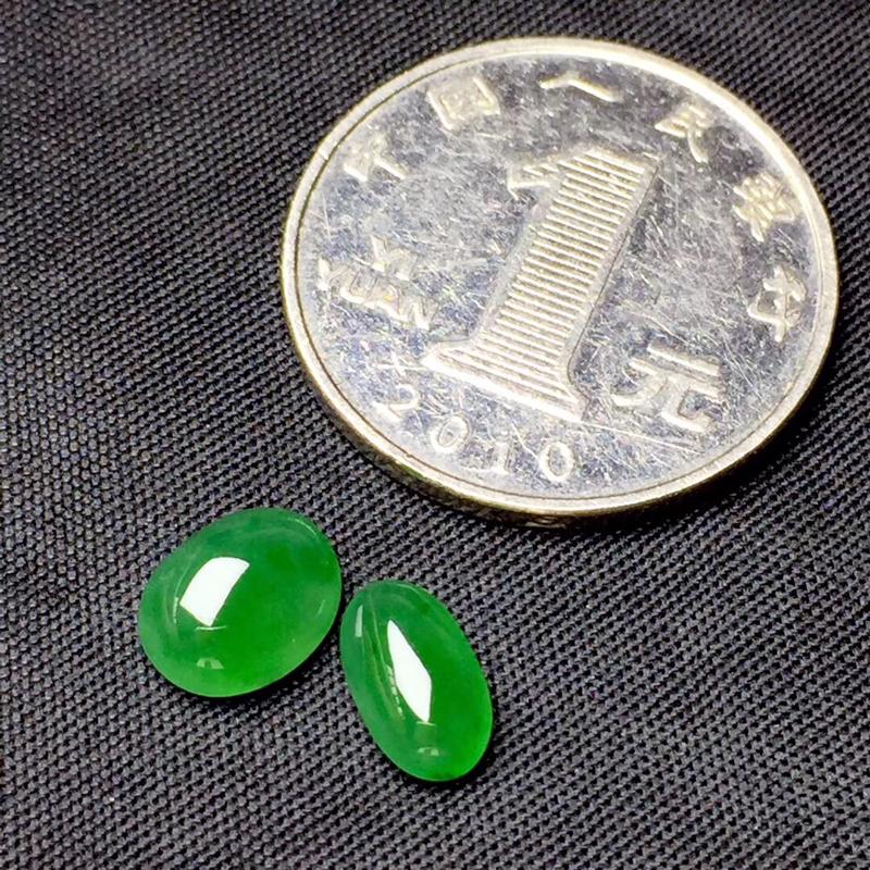【🌹满绿随型裸石:种老水足,色泽漂亮,干净起光,饱满精致,完美无裂,性价比高。尺寸:9.0--7.2--4.0  9.0--5.2--3.3】图3