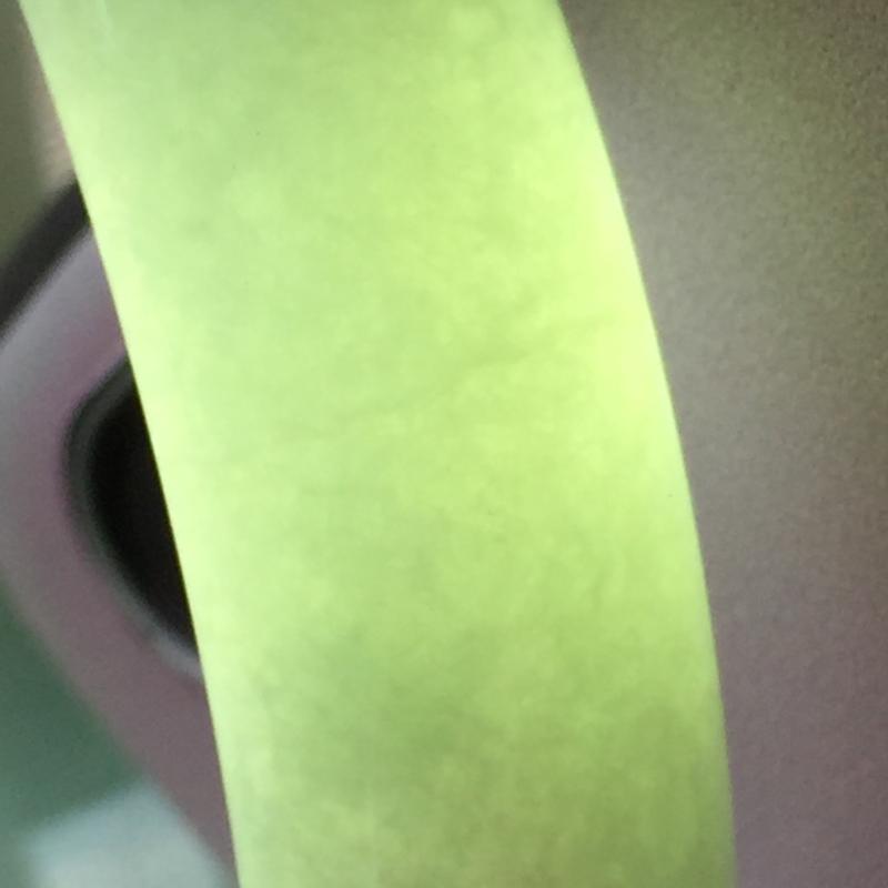 【正圈57mm,糯种浅绿正圈手镯,玉质细腻,底妆清新清爽,上手好看】图9