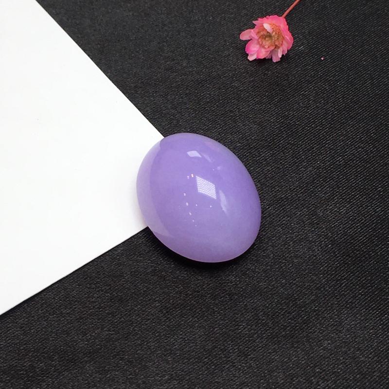 紫罗兰戒面,紫气东来,完美,饱满细腻,镶嵌后效果更显档次,性价比高,推荐,尺寸25*19.5*12.