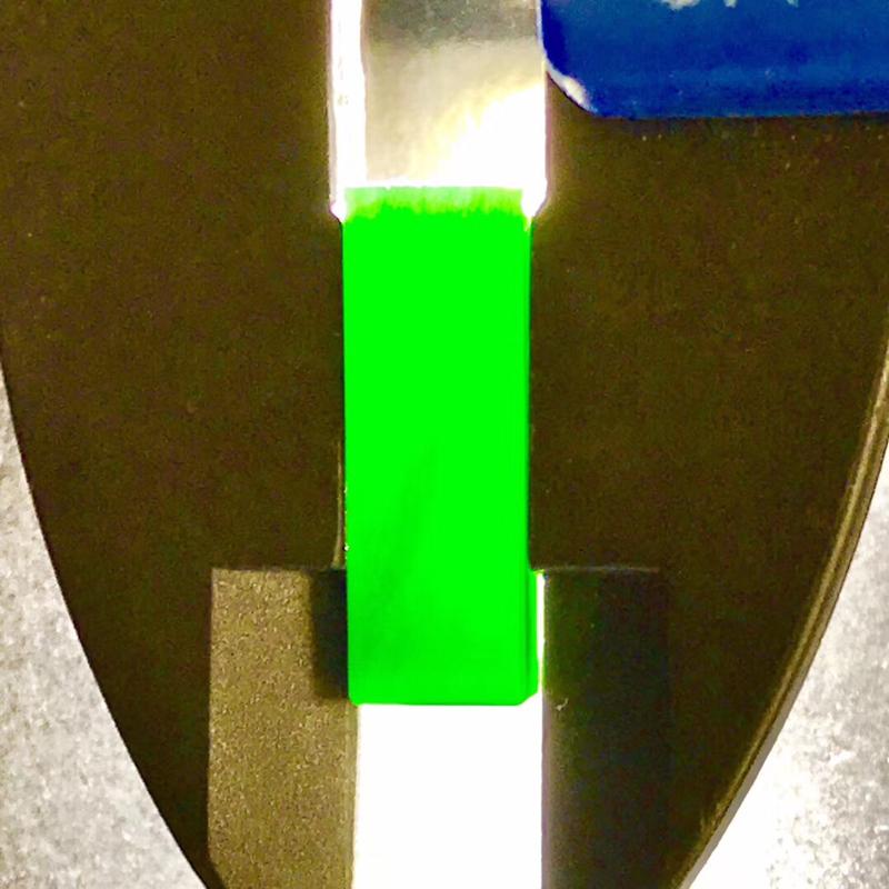 【墨翠【戒面】完美无裂纹,细腻干净,黑度极黑,性价比高,雕工精湛,打灯透绿】图2