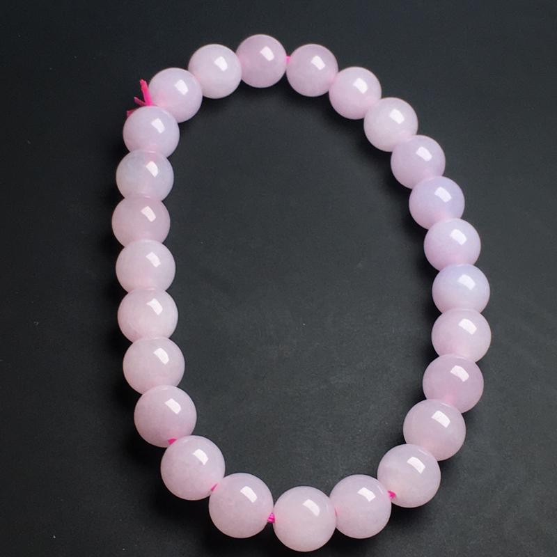 【【紫罗兰手链】色泽艳丽  玉质细腻  饱满圆润  款式精美  直径7毫米】图2
