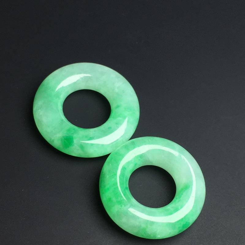 【平安环】色泽艳丽  玉质细腻  饱满圆润  款式精美  尺寸20-4毫米