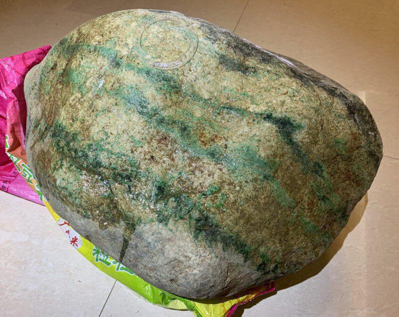 #矿区新货大木那赌大涨##【名称】56公斤木那敞口全赌大色料。