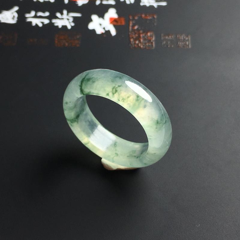 冰种飘花指环