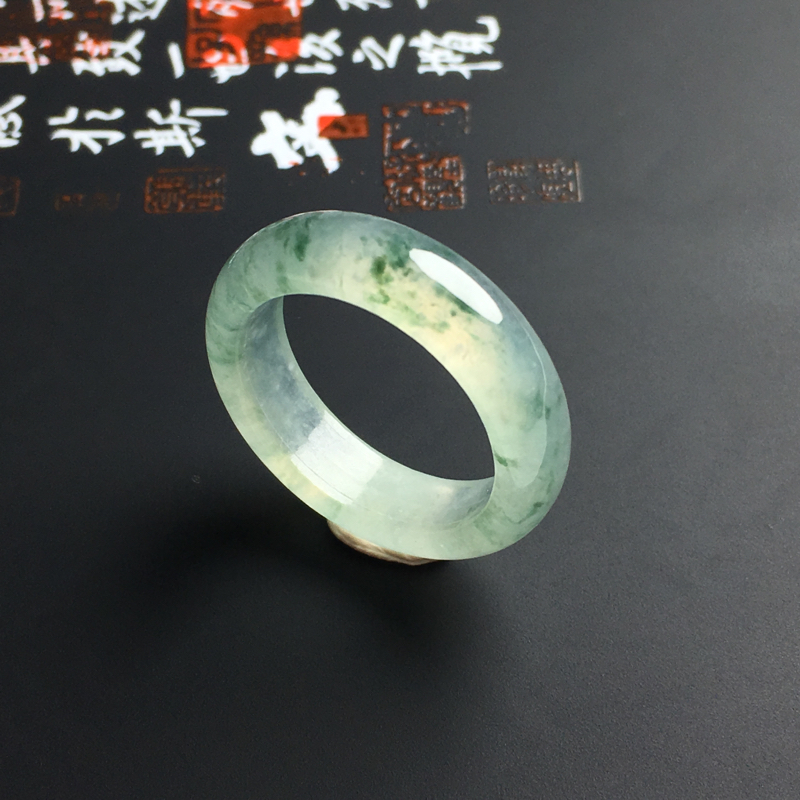 【原价2320元】*冰种飘花指环