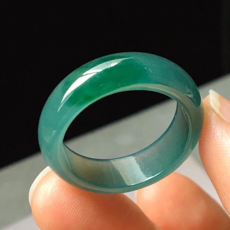 冰蓝水指环,水头足,完美,性价比高,尺寸6.5/3--圈口20