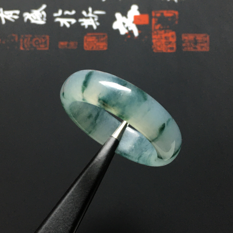 糯化种飘花指环