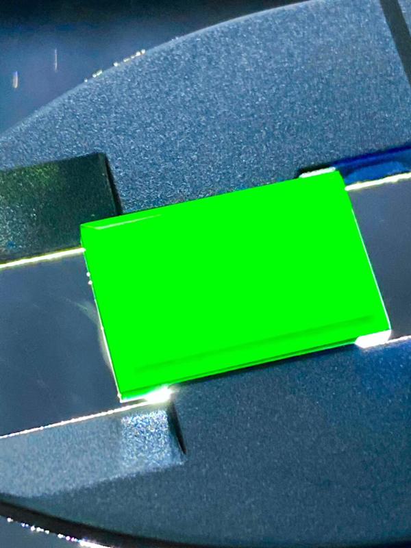 墨翠【戒面】完美无裂纹,细腻干净,黑度好,性价比高,雕工精湛,打灯透绿