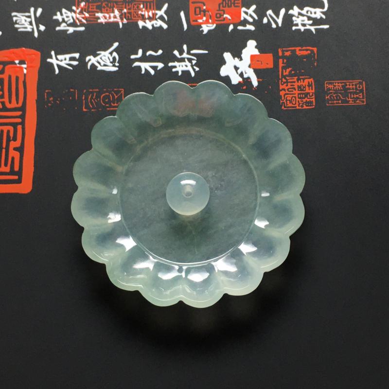 冰种晴底精美香插小摆件 尺寸41.5-7毫米 水润冰透 细腻十足 款式精致