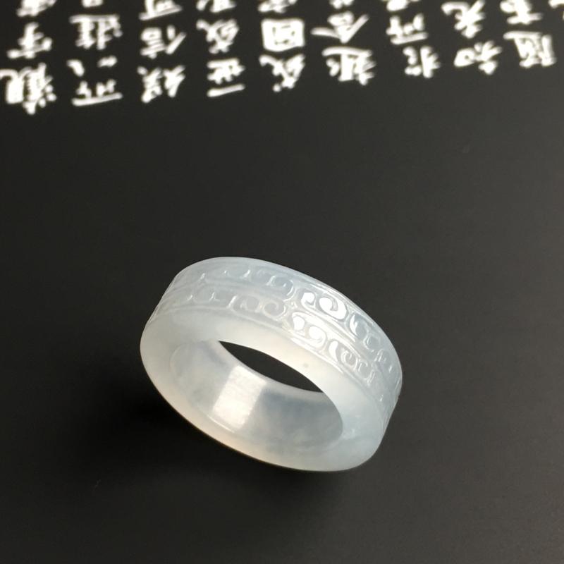 糯种仿古指环