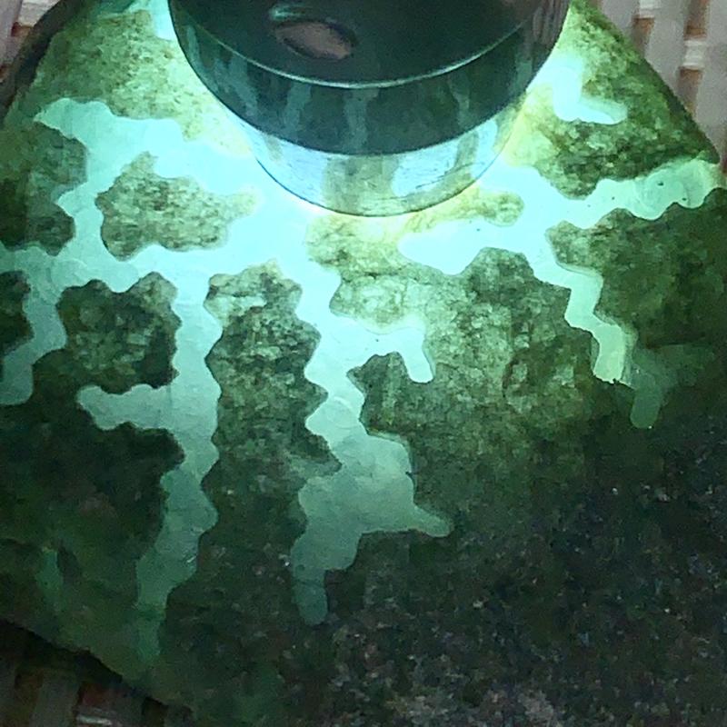#品质原石  矿区直销#【名称】282克后江敞口开窗种水料 【重量】 282克【 尺寸】86*62*