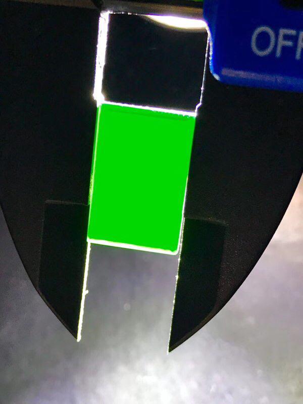 墨翠【戒面】细腻干净、黑度极黑,性价比高,雕工精湛,打灯透绿