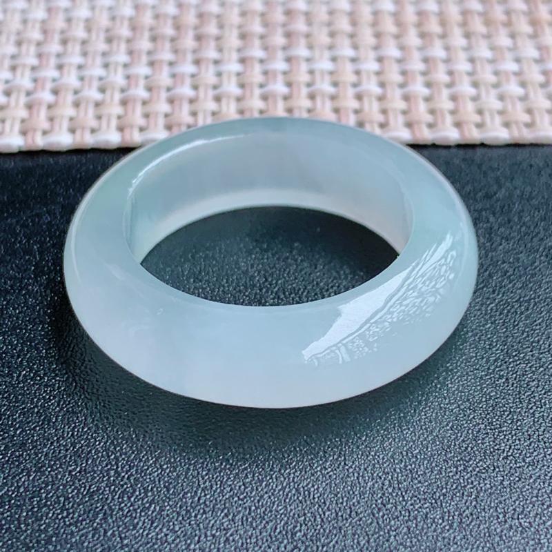 冰透戒指、尺寸:20/7.1/4.7mm,A货翡翠冰透翡翠戒指、编号1014**