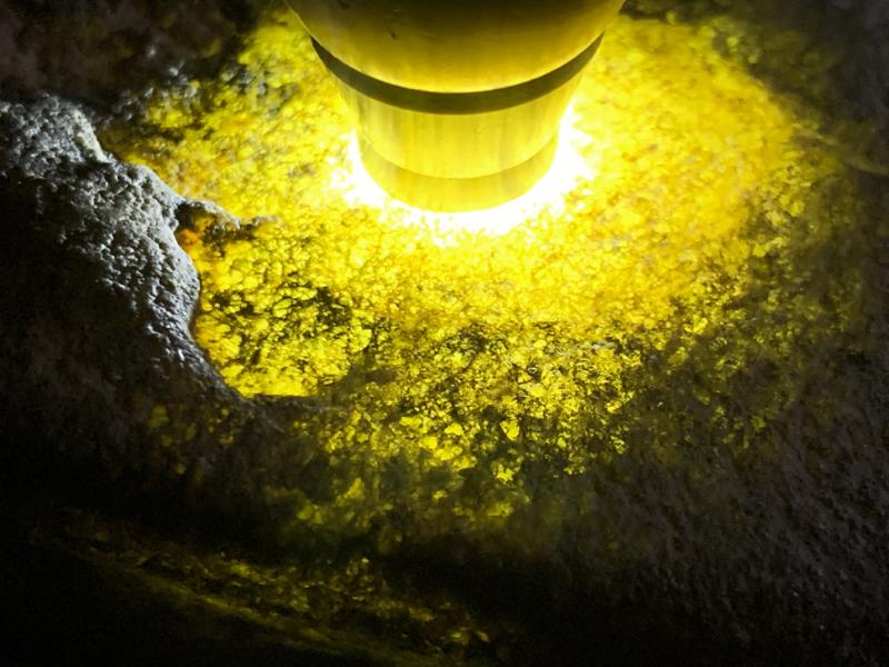 #免费切石解石加工手镯##【名称】1.25公斤莫西沙全赌手镯料。【尺寸】 150*70*50mm 【