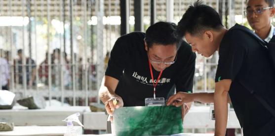 第57届缅甸公盘原石再拍高价,1.27亿摘得标王头衔!