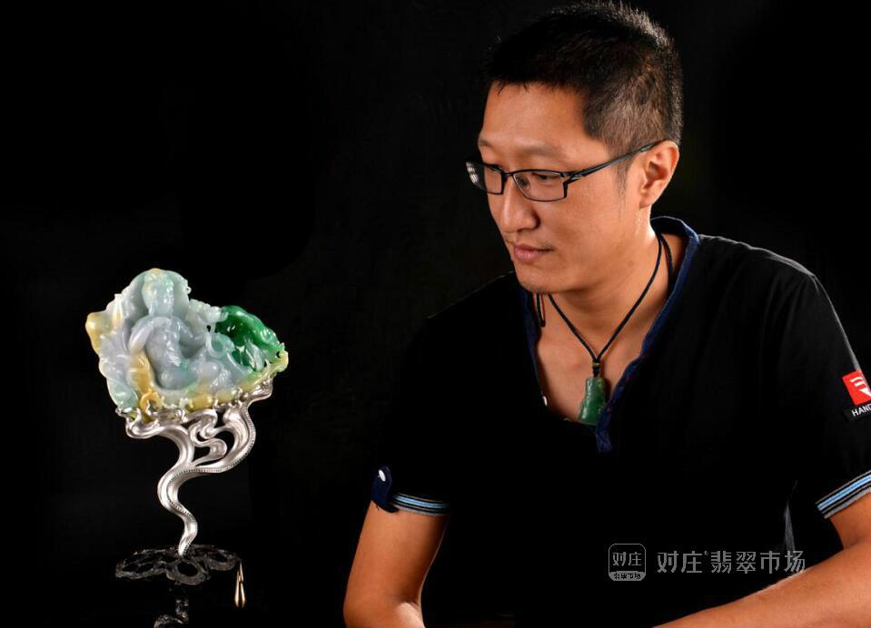 翡翠玉雕大师裴羽,创新是永远的追求