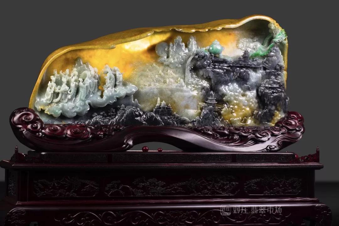 玉雕师翡翠雕刻艺术的风采与魅力