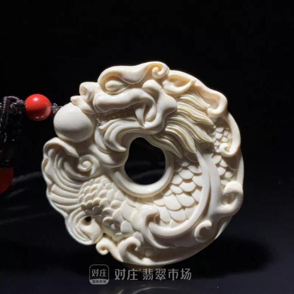 翡翠饰品吉祥图案之鱼龙变化