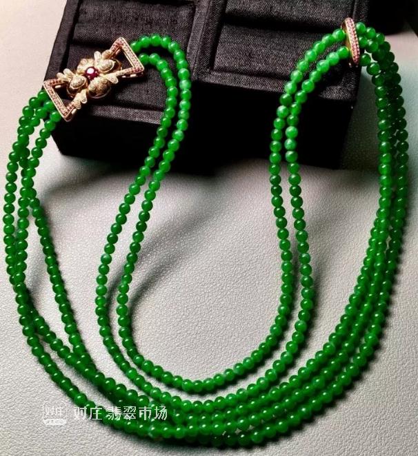 翡翠珠链有没有可买性